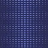 Blå halv Tone Polka Dot Abstract Seamless modell stock illustrationer