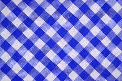 blå handduk Arkivbilder