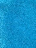 blå handduk Arkivfoto