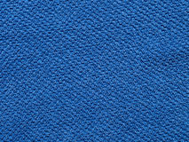Blå handdukbakgrund Royaltyfri Fotografi