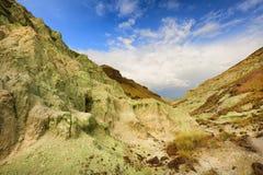 Blå handfat i John Day Fossil Beds Arkivbilder