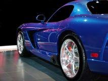 blå hastighet Arkivfoto
