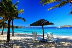 blå havsikt Royaltyfri Fotografi
