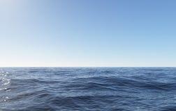 blå havsky Royaltyfri Bild