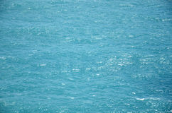 Blå havstexturbakgrund Royaltyfria Foton