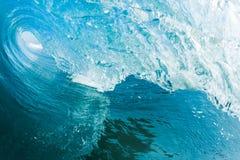blå havwave Fotografering för Bildbyråer