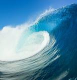 blå havwave Royaltyfri Foto