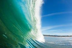 Blå havWave Arkivbilder