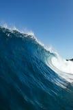 Blå havWave Arkivfoto