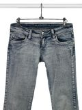 blå hemlig jeansstång Royaltyfria Bilder