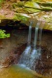 Blå Hen Falls lodlinje Arkivfoto