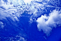 Blå himmel Royaltyfria Foton