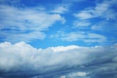Blå himmel Royaltyfri Bild