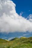 Blå himmel arkivbilder