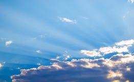 Blå himmel Backround Arkivbild