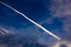 Blå himmel för höst Royaltyfria Bilder