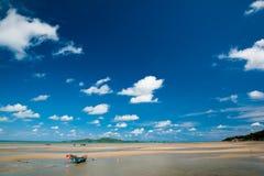 Blå himmel och hav Royaltyfria Foton