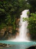 blå himmelsk vattenfall Royaltyfria Foton