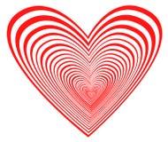 blå hjärta royaltyfri illustrationer