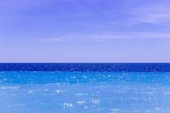 blå horisont Arkivbilder