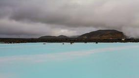 blå iceland lagun Royaltyfri Foto