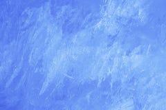 Blå isbakgrund - julmaterielfoto Arkivfoton