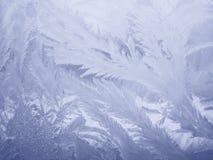 Blå isbakgrund - julmaterielfoto Royaltyfri Foto