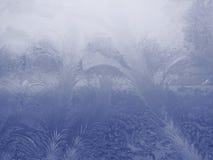 Blå isbakgrund - julmaterielfoto Fotografering för Bildbyråer