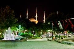 blå istanbul moské arkivfoto