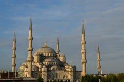 blå istanbul moské Royaltyfria Foton