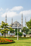 blå istanbul moskékalkon Royaltyfria Bilder