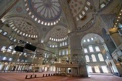blå istanbul moskékalkon Fotografering för Bildbyråer