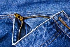 blå jean Royaltyfria Foton