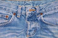 blå jean Arkivbild