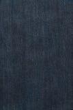 Blå jeangrov bomullstvillbakgrund Royaltyfri Fotografi