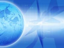 blå jord Arkivfoto