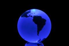 blå jord royaltyfri foto