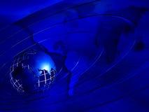 blå jord för bakgrund Royaltyfri Foto