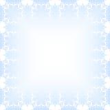 Blå julbakgrund Royaltyfri Fotografi