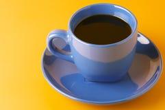 blå kaffekopp Royaltyfria Foton