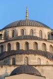 blå kalkon för detaljistanbul moské Arkivfoto