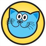 blå katt Royaltyfri Foto
