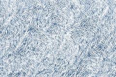 Blå kines eller japanska blom- modeller som drog på ett porslin stock illustrationer