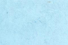 Blå konkret bakgrundstextur Fotografering för Bildbyråer