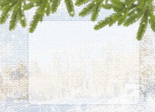 blå kortferie royaltyfri illustrationer