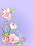 blå korthälsningspion Royaltyfri Foto