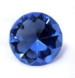 blå kristall Royaltyfri Foto