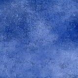 blå krukmakeriyttersida Royaltyfri Fotografi