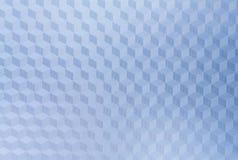 blå kub för bakgrund Royaltyfri Fotografi