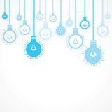 Blå kulabakgrund Royaltyfri Fotografi
